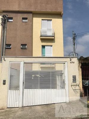 Cobertura Para Venda Em Santo André, Jardim Alvorada, 2 Dormitórios, 1 Banheiro, 2 Vagas - Sa154