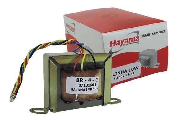 Transformador Linha 500r 10w 4-8r 70v Hayama*