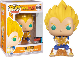 Vegeta Dragon Ball Z Fall Convention Funko Pop