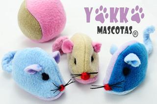 Juguete Para Gatos Raton Yokko Mascotas