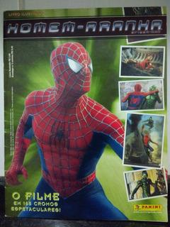 Album Figurinha Homem-aranha Filme Semi Completo Panini Rjhm