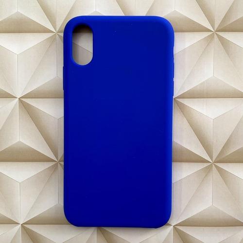 Capinha Capa Silicone iPhone 7 8 Plus X Xr Xs Max C/ Logo