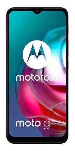 Celular Libre Motorola G30 Lila