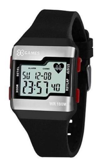 Relógio Xgames Masculino Xport Prata Xgppd144bxpx