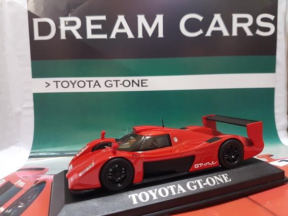 Ixo Toyota Gt-one 1/43 Dream Cars Con Fasciculo