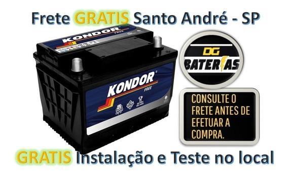 Bateria De Carro Kondor 60ah Fiat: Palio, Siena, Stilo