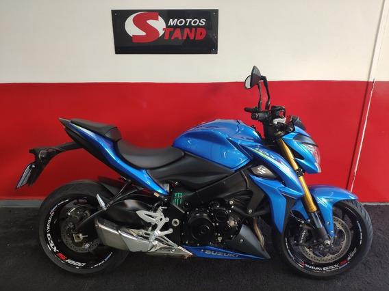 Suzuki Gsx S Gsxs Gsx-s 1000 Abs 2016 Azul