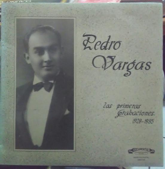 Pedro Vargas, Las Primeras Grabaciones, 1928 - 1935
