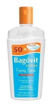 Bagovit Protección Solar Alta Fps50 Uv-b Emulsión 200ml