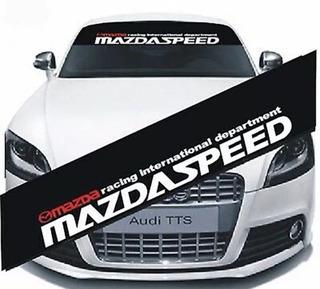 Calcomania Adhesivo Parabrisa Mazda Tuning Rg_imports