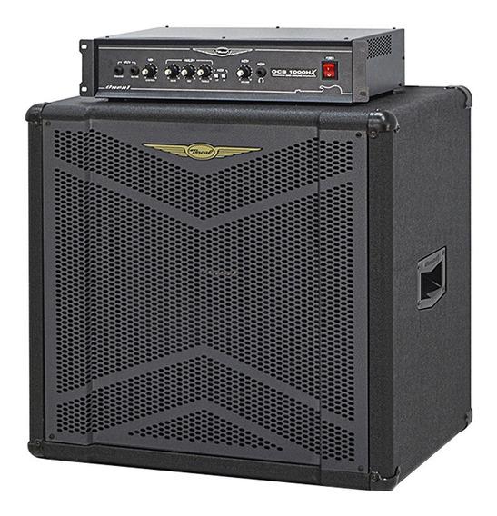 Amplificador Contra Baixo Oneal Ocb 1000 Hx + Obs 115 X