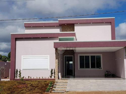 Imagem 1 de 13 de Casa Com 3 Dormitórios À Venda, 187 M² Por R$ 895.000,00 - Condomínio Leonardo  Da Vinci - Foz Do Iguaçu/pr - Ca0377