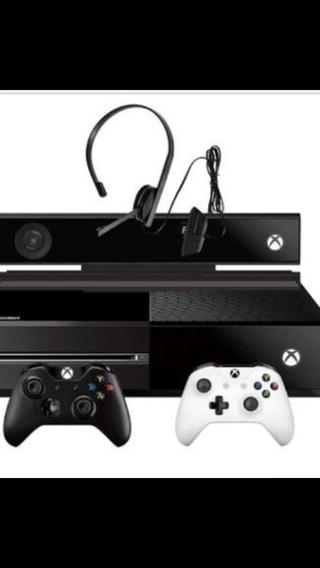 Xbox One Com Kinect E 2 Controle