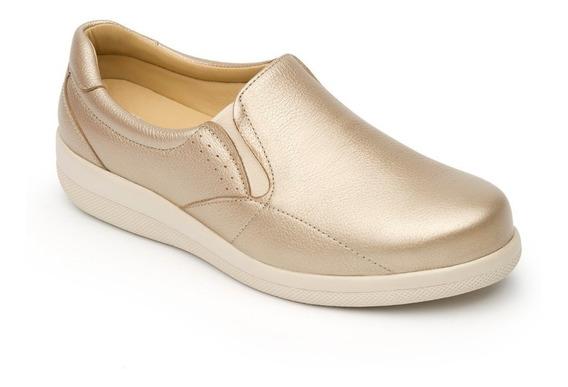 Zapato Flexi Dama 46702 Oro Diabetico **últimos Pares**