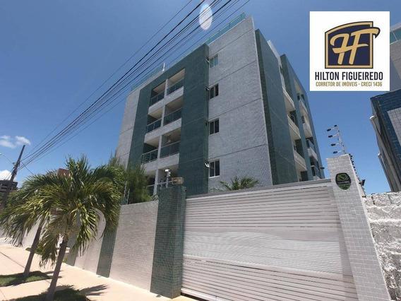 Apartamento Com 3 Dormitórios À Venda, 106 M² Por R$ 335.000 - Bessa - João Pessoa/pb - Ap5981