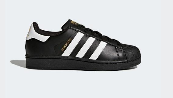 comprar popular 0d190 aec2e Adidas Superstar Clasicas Rayas Negras - Tenis en Mercado ...