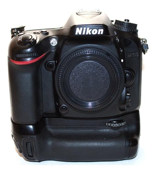 Câmera Nikon D7100 Com Grip Bateria Mb-d15 Original Seminova