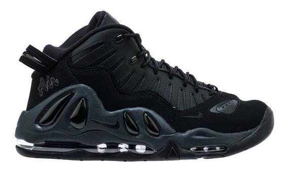 Nike Air Max Uptempo 97 Triple Black Importación Mariscal