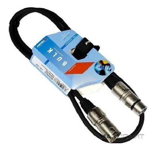 Imagen 1 de 3 de Cable Para Micrófono 0.90 Mts Xlr - Xlr Proel - Italiano