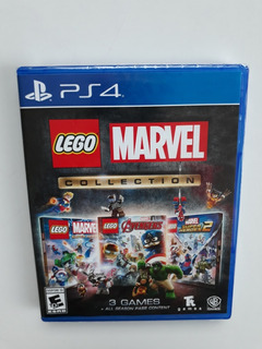 Lego Marvel Collection Juego Ps4 Nuevo Y Sellado