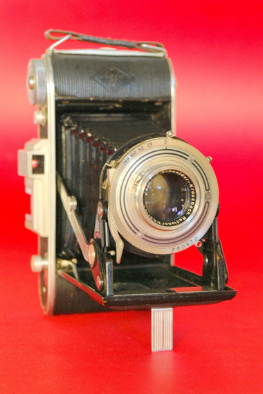 Camera 6x9 Agfa - Funcionando, Lente Limpa