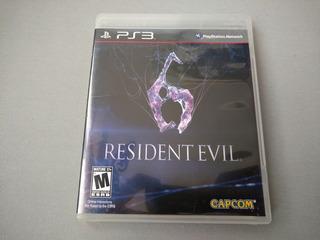 Resident Evil 6 Original Para Ps3
