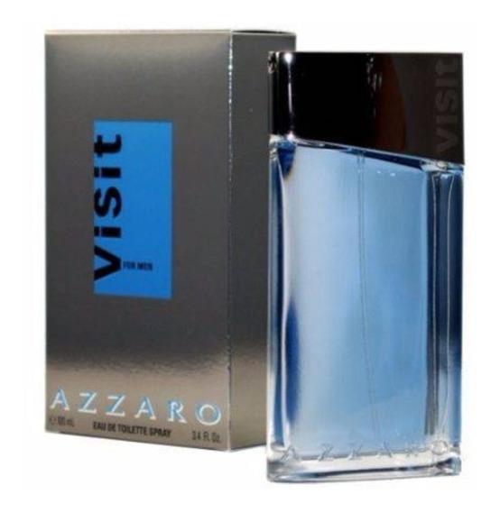 Perfume Azarro Visit Masculino De 100ml