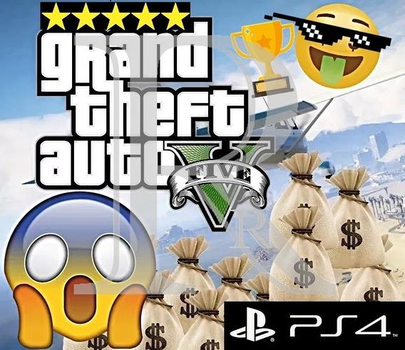 $5 Milhões / Dinheiro - Gta V Ps4