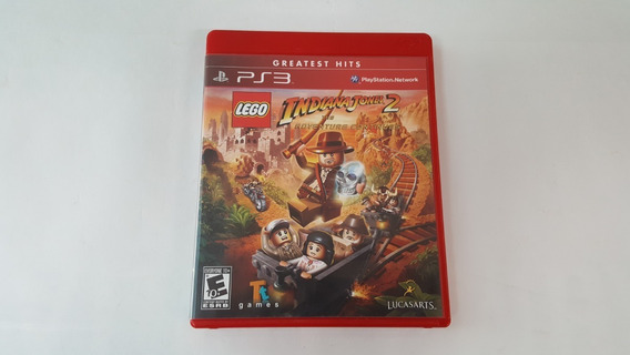 Lego Indiana Jones 2 The Adventure Continues - Ps3- Original