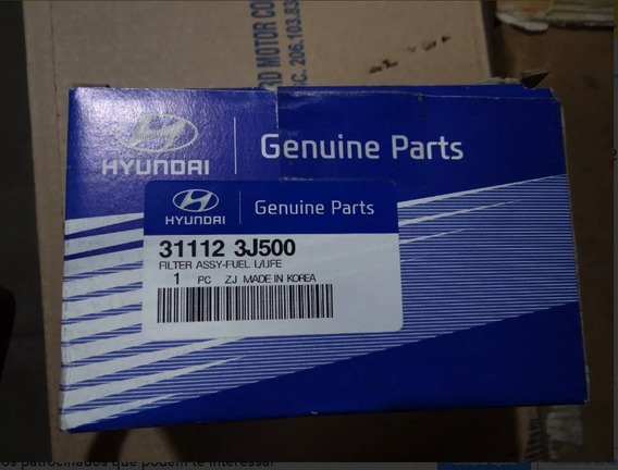 Filtro De Combustível Hyundai Vera Cruz 06/12 Original Novo