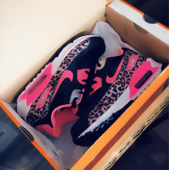 Tenis Nike Pink Animal Print Onca