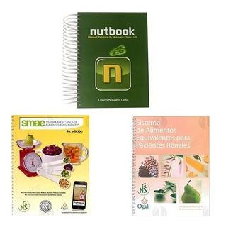 Kit Smae + Nutbook + Smae Renal Material Apoyo Libros Nutri