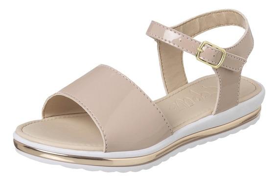 Sandalia Infantil Feminina Moda Fashion Escolar Salto Sapato