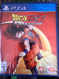 Dragon Ball Z Kakarot Nuevo Sellado Playstation 4 Envío Hoy