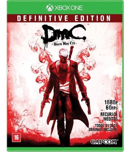 Jogo Devil May Cry Definitive Ed,. Xbox One Mídia Física