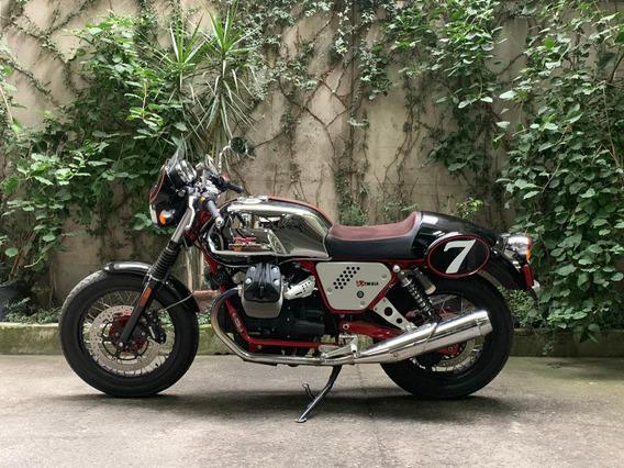 Moto Guzzi Edición Aniversario V7 Racer Motor 750cc