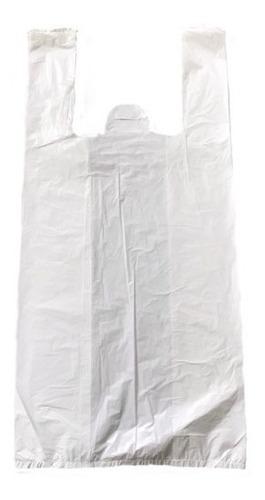 Sacola Plastica Branca Media Lisa 1000 Und 38x48 - Promoção