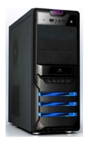 Case Agiler P4-atx Negro Panel 24pin, Sata,usb X2, Power 525