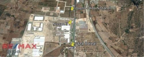 Terreno En Zona Industrial En Desarrollo, Entre Dos Plantas Automotrices!!