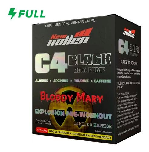 C4 Black Beta Pump - Pré Treino - New Millen