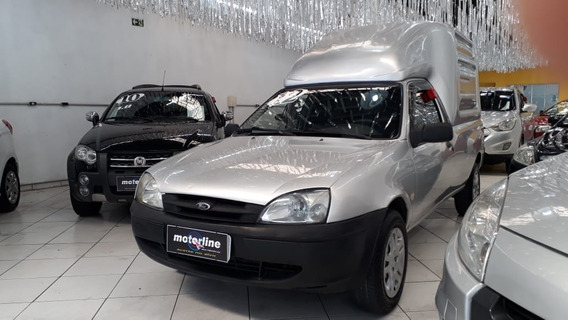 Ford Courier Combo 1.6 L Flex 2012 Prata Super Nova