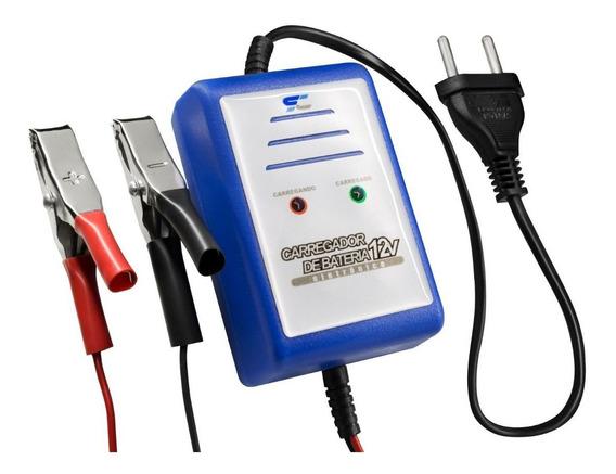 Carregador Bateria Completo 12v Carros Motos Barcos 2000ma