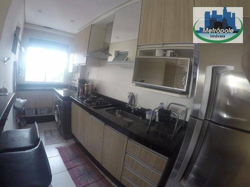 Apartamento Residencial À Venda, Jardim Bela Vista, Guarulhos. - Ap0346