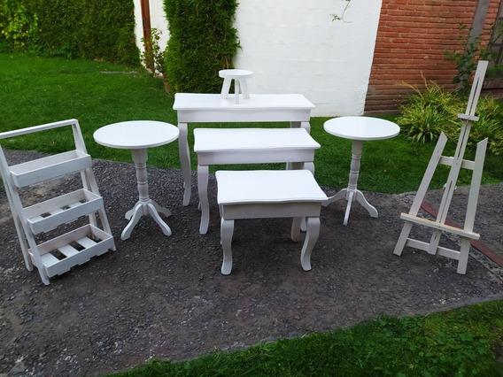 Alquiler Mobiliario Mesas De Candy Bar Estructuras