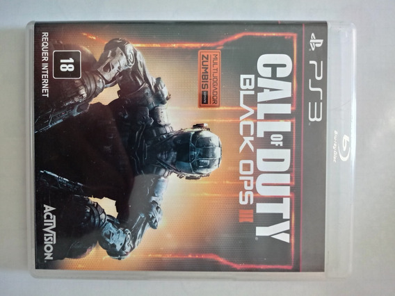 Jogo Ps3 Call Of Duty Black Ops Iii