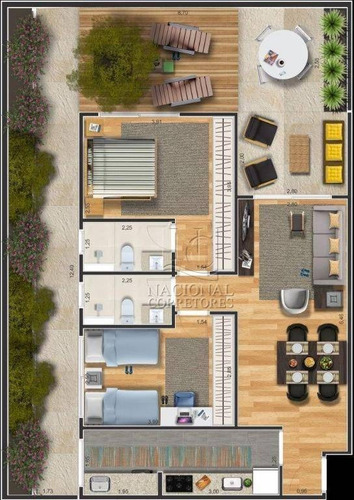 Imagem 1 de 20 de Apartamento À Venda, 69 M² Por R$ 405.000,00 - Nova Gerti - São Caetano Do Sul/sp - Ap10869