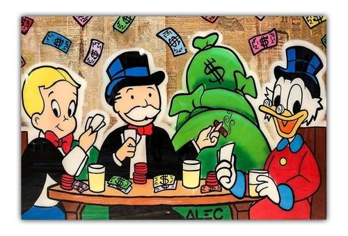 Poster Foto Hd Grafite 50x75cm Arte Urbana Alec Monopoly #5