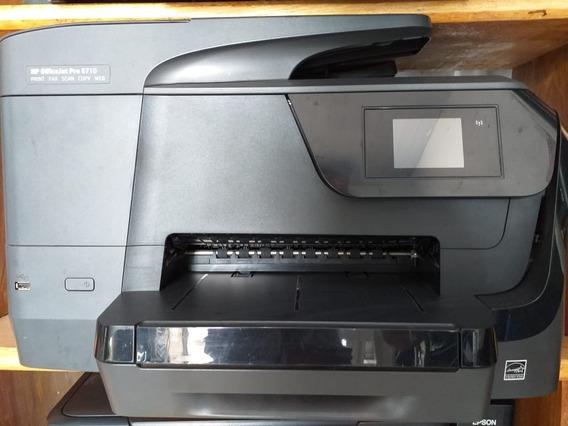Impressora Hp Officejet Pro 8710- Sem Cabeça E Sem Cartucho