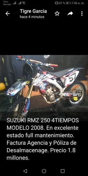 Rmz De Motocross O Montaña