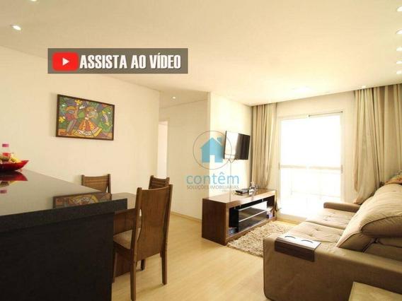 Ap1488- Apartamento Com 3 Dormitórios À Venda, 67 M² Por R$ 270.000 - Vila Da Oportunidade - Carapicuíba/sp - Ap1488